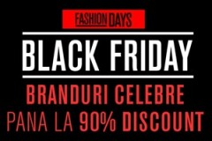 Reduceri masive in 2014 de Black Friday la Fashion Days