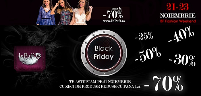 Black Friday 2014 la InPuff