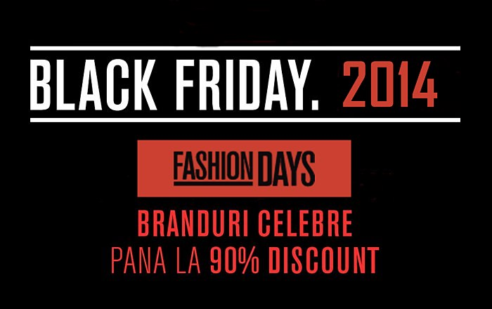 Black Friday 2014 FashionDays