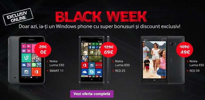 Black Friday 2014 la Vodafone