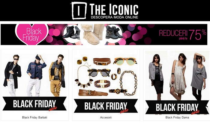 Black Friday 2014 TheIconic