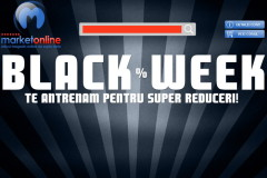 A inceput promotia Black Week 2014 la MarketOnline