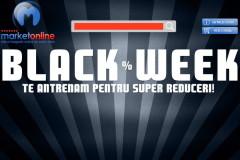 Black Week 2014 la MarketOnline