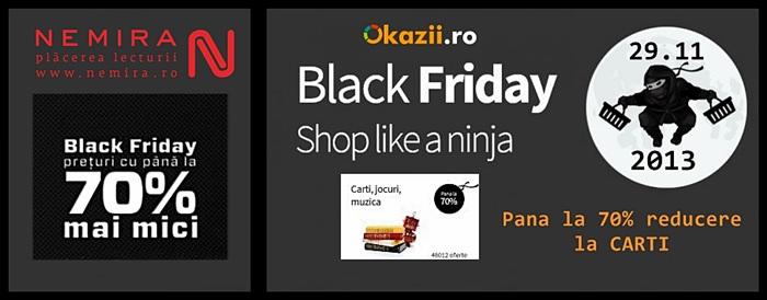 Carti de Black Friday Okazii Nemira