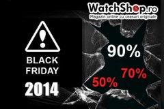 Discounturi mari la ceasuri originale de Black Friday 2014