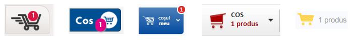 Cos cumparaturi online Romania