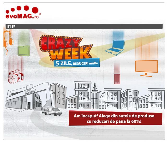 Crazy Week 2014 la evoMAG