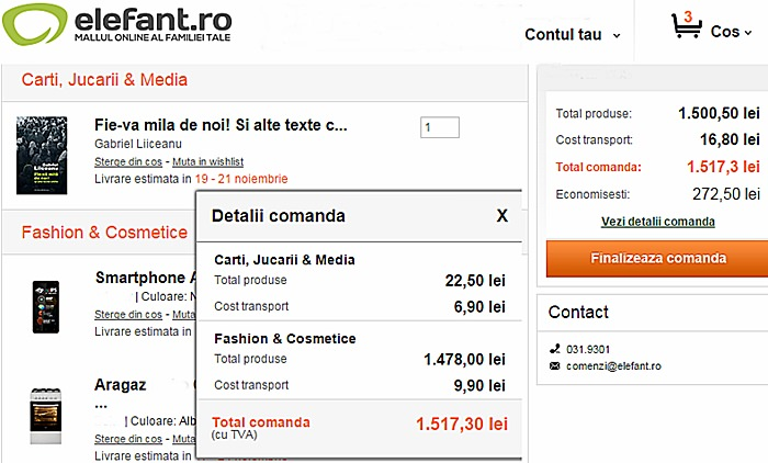 Conditii de transport pentru comerciantii fashion online