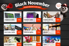 Black Friday precedat de Black November 2014 la Okazii.ro