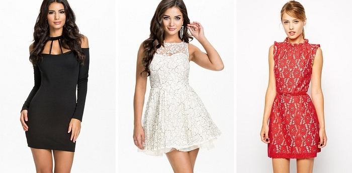 3 dintre modelele de rochite disponibile pe DeClub.ro: Halter, Pretty Princess, Resse Red.