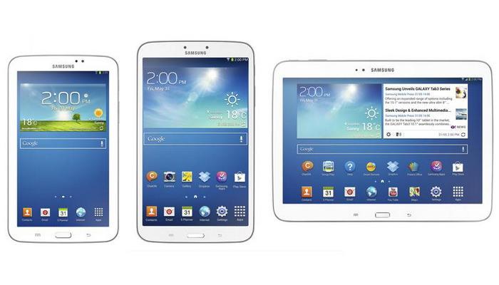 Seria Samsung Galaxy Tab 3