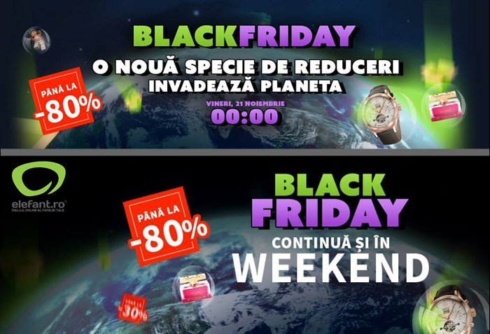 Black Friday 2014 la Elefant.ro
