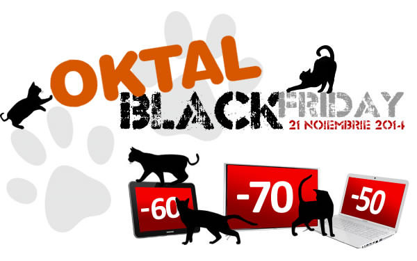 Vanzarile magazinelor online de Black Friday 2014 Oktal