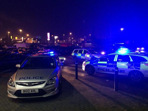Politia britanica intervine Black Friday