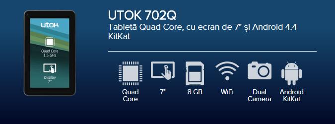 Tableta UTOK 702Q
