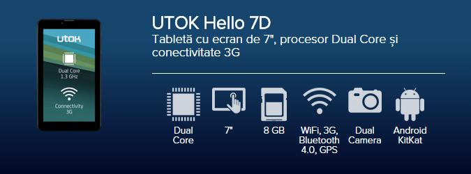Tableta UTOK Hello 7D