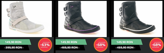 Ghete dama Puma Black Friday 2014 ZorileStore