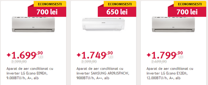 Black Friday de vara 2015 aer conditionat