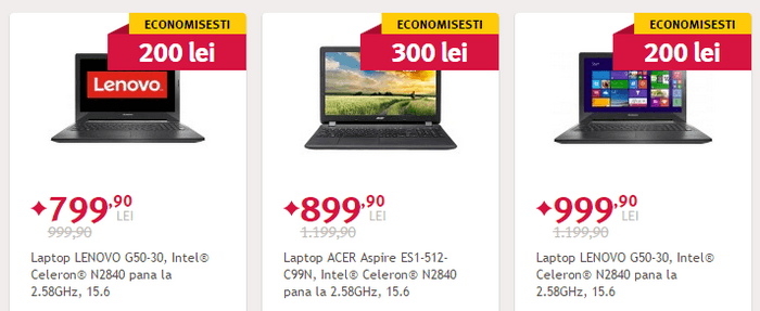 Black Friday de vara 2015 laptop