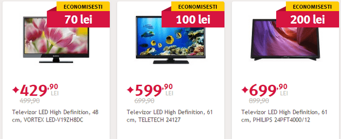 Black Friday de vara 2015 televizor