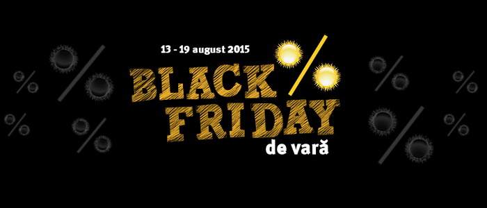 Black Friday de vara Altex 2015