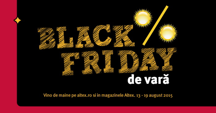 Black Friday de vara