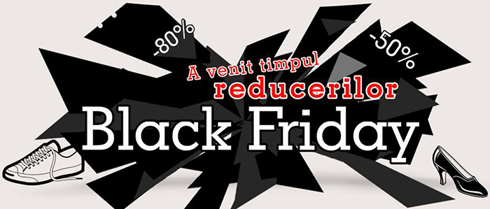 Timpul reducerilor Black Friday Kalapod