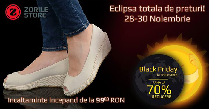 Incaltaminte dama 99 lei Black Friday 2014 ZorileStore
