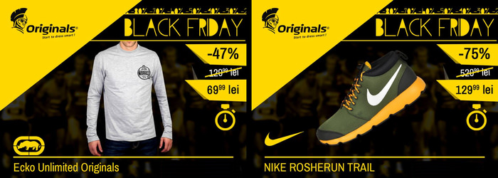 Oferte Originals Black Friday 2014