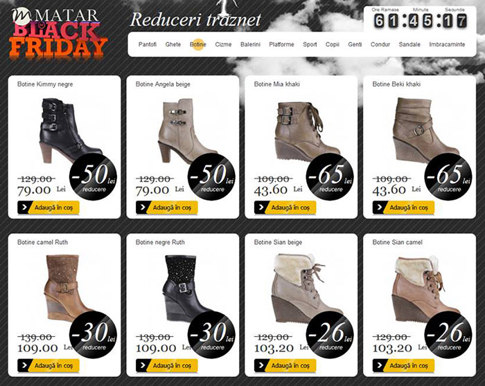 Reduceri Black Friday 2013 Matar