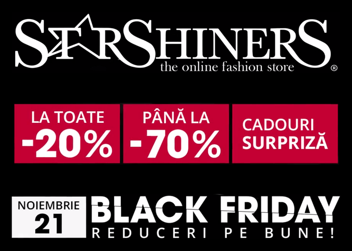 Reduceri Black Friday StarShinerS