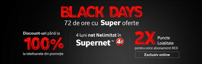 Black Days 2014 Vodafone