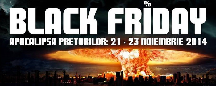 Black Friday 2014 la MarketOnline