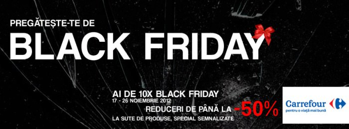 Black Friday la Carrefour in 2012