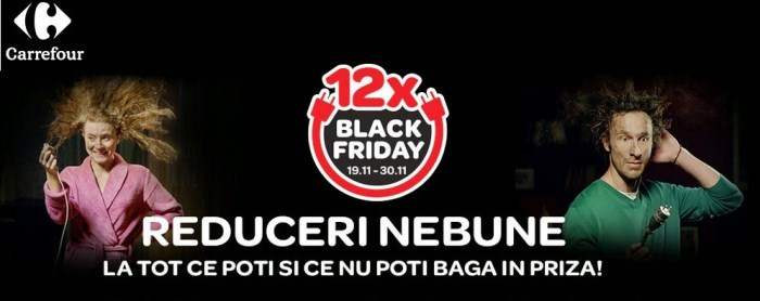 Black Friday la Carrefour in 2014