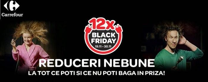 Black Friday la Carrefour in 2014