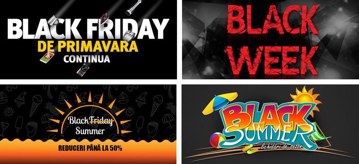 Black Friday in timpul anului