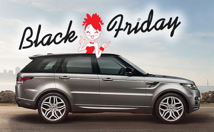 Black Friday la masini