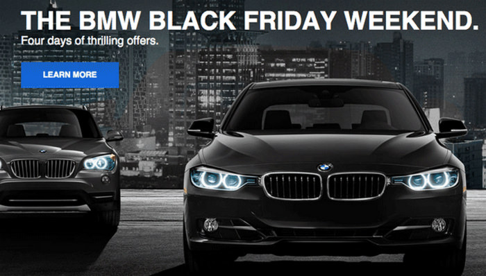 BMW Black Friday 2014
