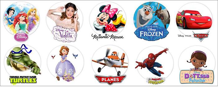Branduri personaje jucarii