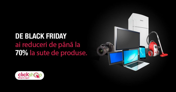 Clickshop Black Friday 2014 reduceri