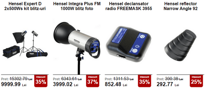 Hensel Black Friday Pro 2015 PhotoSetup