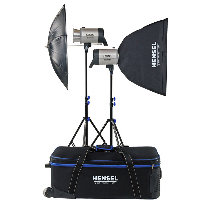 Kit Hensel Integra Plus 500Ws FM10