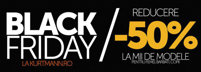Kurtmann Black Friday reducere 50%