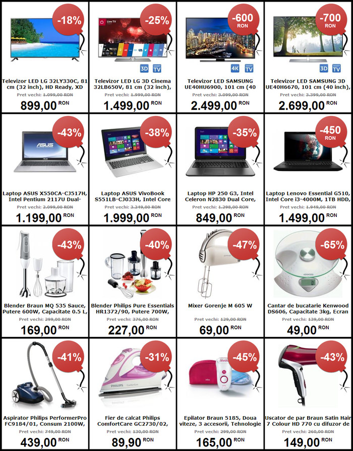 MarketOnline oferte Black Friday 2014