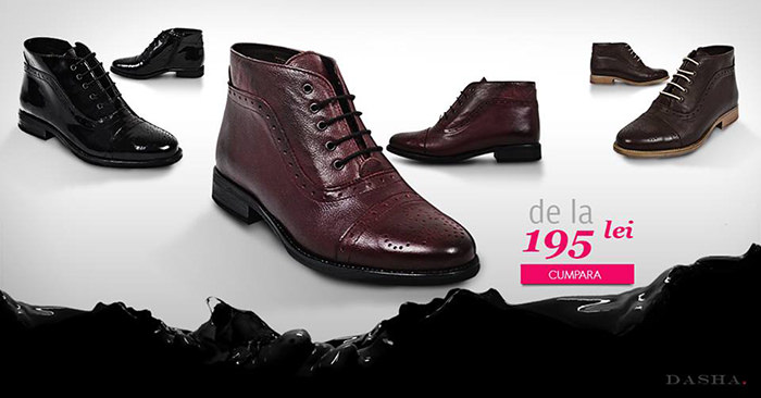 Pantofi Dasha Black Friday 2014