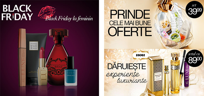 Oferte Black Friday 2014 Avon
