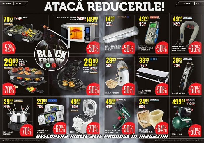 Oferte Lidl de Black Friday 2013