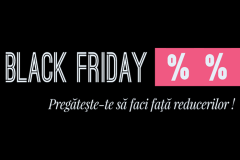 Pregatiti Black Friday haine