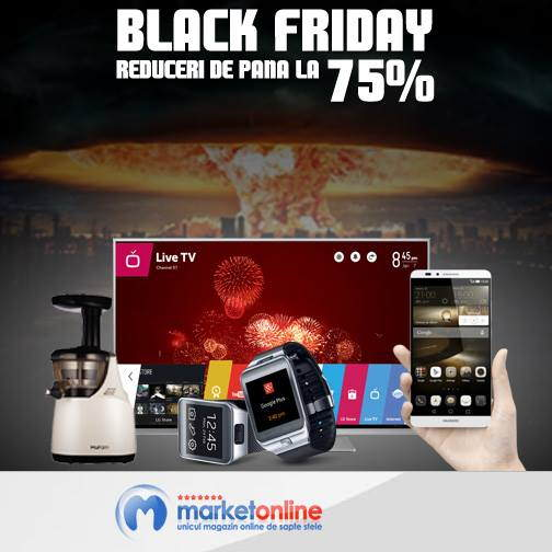 Reduceri Black Friday 2014 la MarketOnline